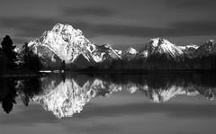 Moran Reflection (rickpawl) Tags: snow color reflection water river landscape scenery view tetons oxbow snowymountains grandtetonnationalpark mtmoran