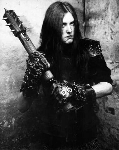 Varg VIkernes, late 1990s.