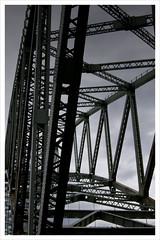 Runcorn Bridge (pixelee) Tags: bridge blackwhite runcorn