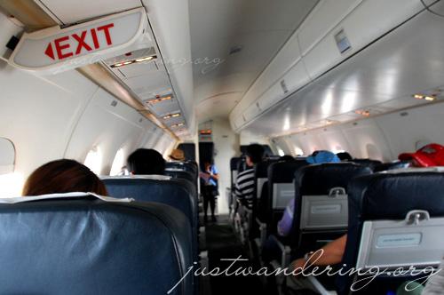 Inside the Seair Dornier 328