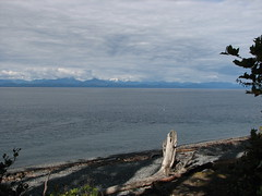 View from Bere Point onto the mainland (Dennisworld) Tags: canada britishcolumbia vancouverisland malcolmisland berepoint berepointregionalpark