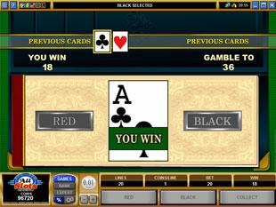 free Cashville gamble bonus game