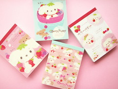 Kawaii Cute San-x Character Berry Puppy Mini Memo Pads Collection (Kawaii Japan) Tags: new pink blue red dog baby cute girl fruits smile smiling japan shop shopping scrapbooking paper puppy asian happy japanese diy store nice strawberry berry pretty character adorable craft mini cutie goods collection memo swap stuff kawaii fancy lovely cuteness stationery goodies collectibles crafting pads japanesegirl swapping sanx cardmaking papergoods japanesestore cawaii japaneseshop kawaiigoods fancyshop kawaiistuff kawaiishopping kawaiigoodies kawaiijapan kawaiistore kawaiishop japanesekawaii kawaiishopjapan berrypuppy