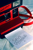 save polaroid. (CodyHoffman) Tags: camera red film vintage polaroid note 600 coolcam savepolaroid