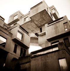 Habitat 67 (J.T.R.) Tags: film holga montreal moshesafdie socialhousing autaut nowveryexpensive