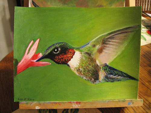 my mom's hummingbird