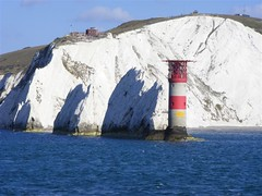 The Needles (PD3.) Tags: lighthouse bay hampshire solent needles isle wight the alum hants