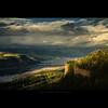 enlightened vista house (alter your reality) Tags: sunset nature 30 oregon landscape washington september columbiariver 2009 cloudscape pacificnw vistahouse karmapotd karmapotw alteryourreality jarekszymanski