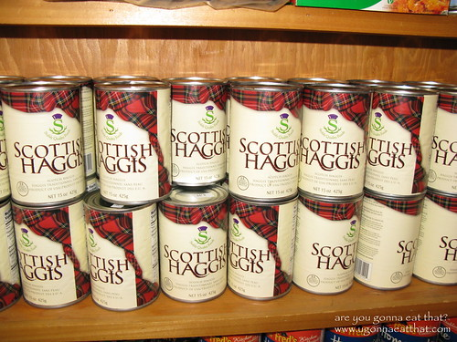 Canned haggis