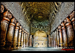 kanheri Caves (Rakesh Shelar Photography) Tags: park old india rockies caves national nikkor mumbai centered metering rakesh weighted kanheri borivali nikond d40 18135mm shelar