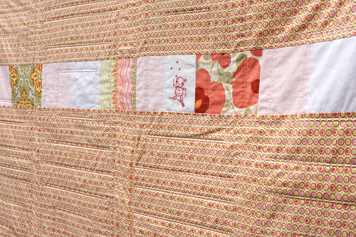 Amy's Quilt back detail