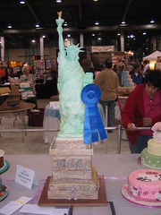 Liberty Cake (RDPJCakes) Tags: statue cake liberty tall ossas rdpjcake
