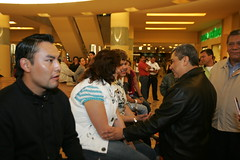 Centro Comercial Angelopolis, 28-02-10 (JavierLZavala) Tags: en amigos familia y centro el su javier con comercial zavala lpez angelopolis 280210