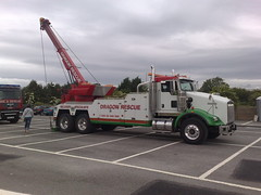 Dragon Rescue Kenworth at Show (JAMES2039) Tags: rescue truck dragon heavy tow towtruck recovery kenworth wrecker truckshow 6wheeler t800 heavyrecovery underlift heavyunderlift dr06gon