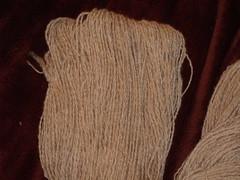 Handspun - Navajo Churro (Garlic Knob) Tags: wool churro handspun