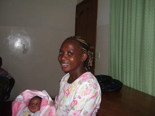 Auntie Mercy & Baby Brendan