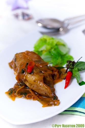 Braised Fish inHoisin and Chili