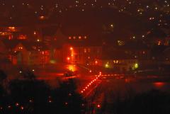 Skottebrygga (ThomasD80) Tags: light norway night dark nikon sigma atnight larvik d80 nikond80 150500mm skottebrygga
