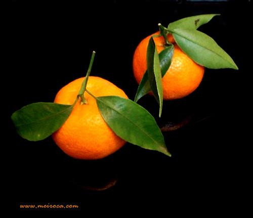 Dois mandarinos!
