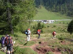 Abstieg zum Passo Duran