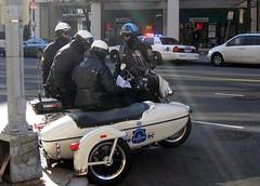Motorcycle Cops (Karol A Olson) Tags: dc washington nw police obama secretservice brrrrrr washingtonpost 15thstreet motorcade presidentelect