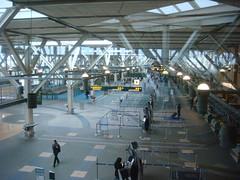 Vancouver U.S. Departures Hall