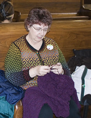 Knitting @ Union Station