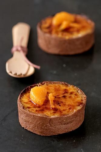 Tangerine Creme Brulees Tartelettes Recipe — Dishmaps