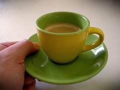 28/2009 - Caf Cubano (Inflekt) Tags: selfportrait coffee caf espresso 365 taza 2009 saucer tacita cubancoffee espressocup 365days tazadecaf cafbustelo cafcubano inflekt tacitadecaf handafternoonespresso
