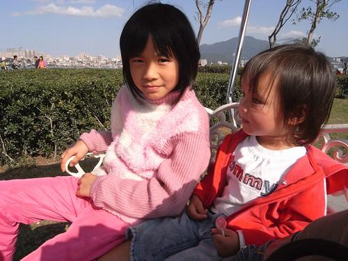 你拍攝的 2-2喬與ㄚ芷姊姊。