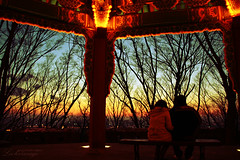 winter, sunset, city................and you. (ShanLuPhoto) Tags: sunset seoul southkorea  rok seoultower namsan republicofkorea branchs
