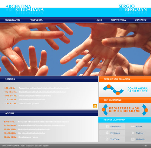 Argentina Ciudadana web home