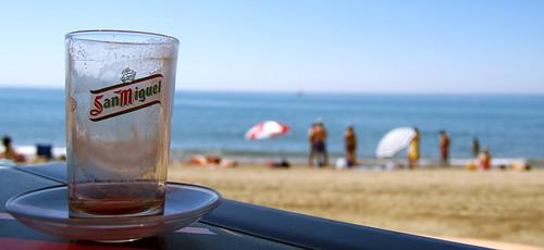La playa triunfa