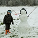 Samuel and the snowman
