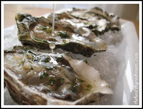 Oysters Mignonette
