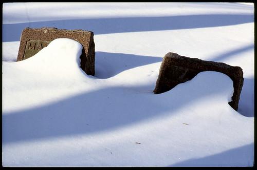 Cemetery Snow