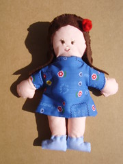 Blue (**Taller Muy Freak**) Tags: girls boys colors children toys doll nios colores kindergarten ragdolls trapo muecos fabrics telas clothdolls