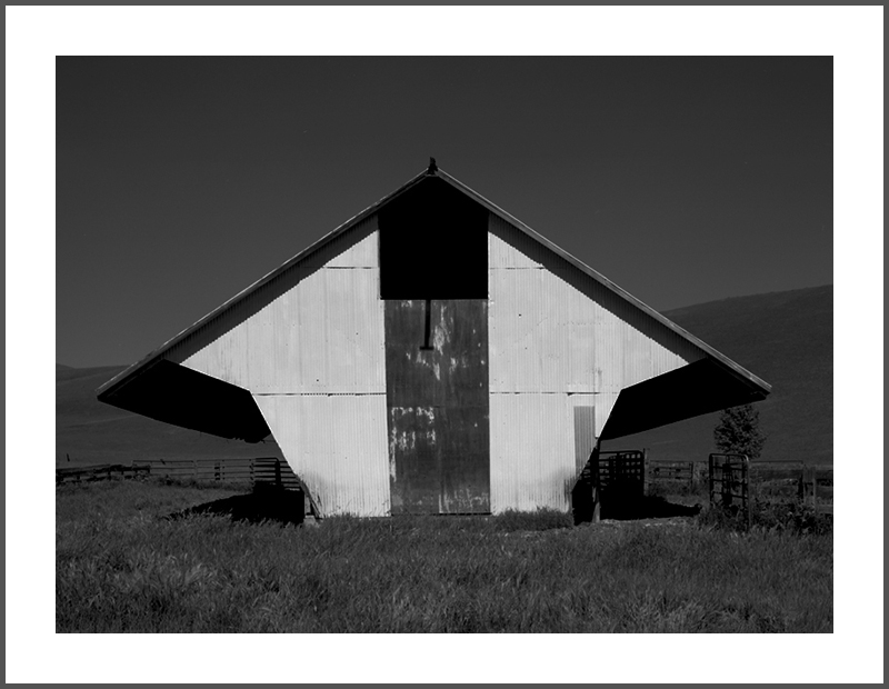 Feed Barn, Photograph by Rick Knepp, All Rights Reserved