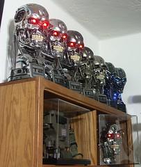 Terminator ENDOSKULL busts (FelMarWETA) Tags: skull icons gallery tx clean replica stan chrome hollywood terminator collectors combat winston prop collectibles sideshow t2 endo hcg terminatrix t800 endoskeleton toynami endoskull