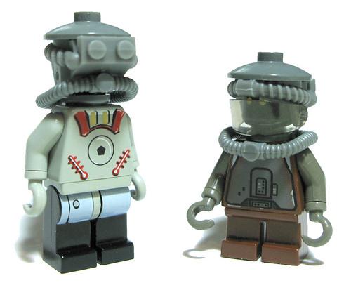 Organic Automatrons franken- custom minifigs