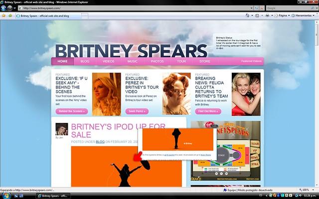 BritneySpears.Com - Wallpaper (iBritney) by AngelGutierrez ™ (Khronos)