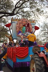 Krewe of Tucks - The King's Throne