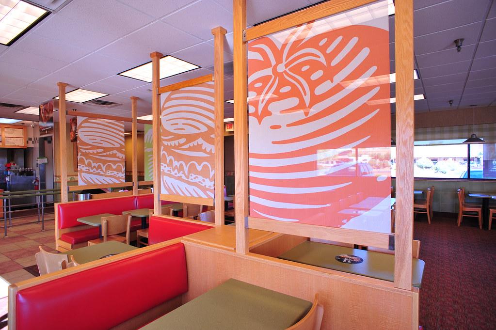 Wendy's Interior - N. 90th, Scottsdale AZ