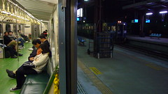 /station platform (Yong Yi / ) Tags: train taiwan    railwayplatform