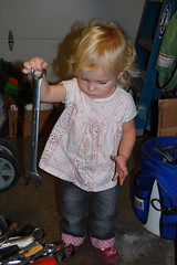 Dad's little mechanic in the making! (Brookswilson) Tags: makena