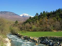 Bistrica e Deanit, spring (kosova cajun) Tags: mountain river landscape spring kosova kosovo balkans lum peisazh dean southeasterneurope natyr snowcoveredpeak strellcpeak majaestrellcit bistricaedeanit rrafshiidukagjinit