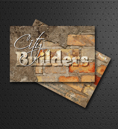 City Builders Business Cards