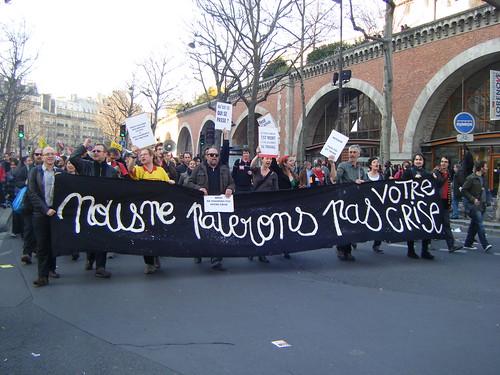 Manifestation du 19 mars 2009