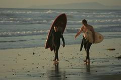 Surfistas, Torrey Pines Beach, La Jolla, CA (remediosmorales) Tags: park beach pines torrey