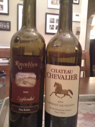 Grape Madness Round #3: Chateau Chevalier vs. Rosenblum